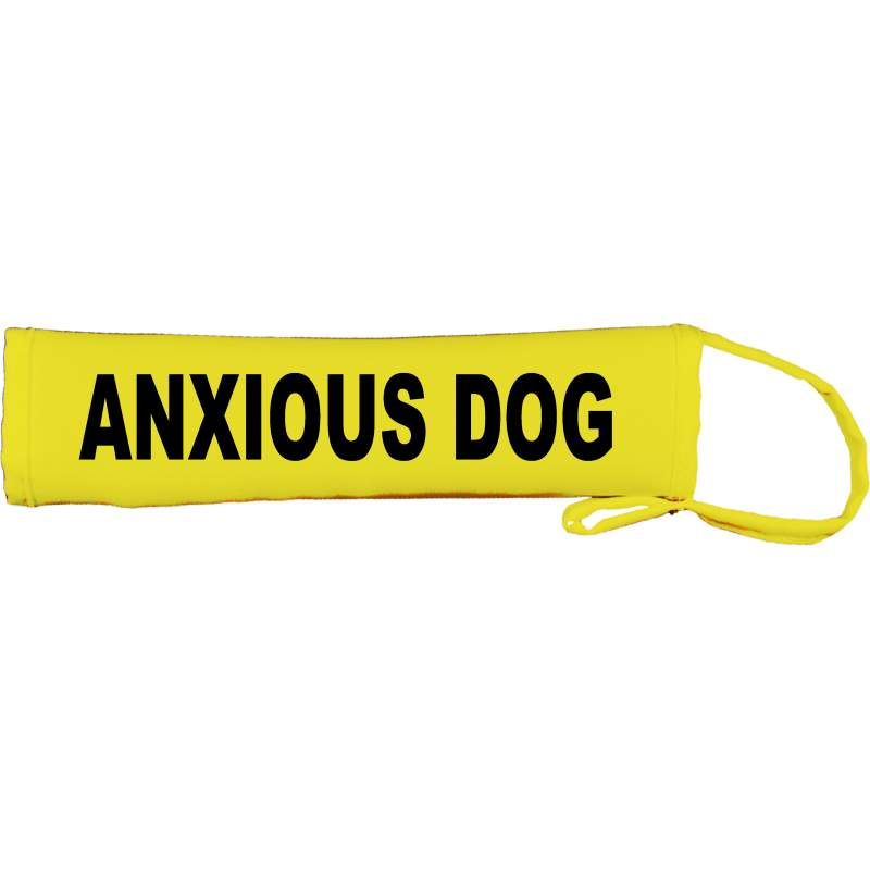 Anxious Dog - Fluorescent Neon Yellow Dog Lead Slip