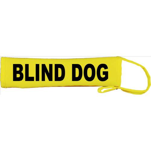 Blind Dog - Fluorescent Neon Yellow Dog Lead Slip