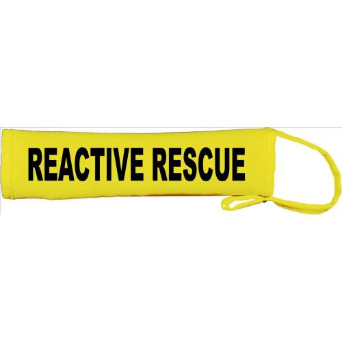 REACTIVE RESCUE - Fluorescent Neon Yellow Dog Lead Slip