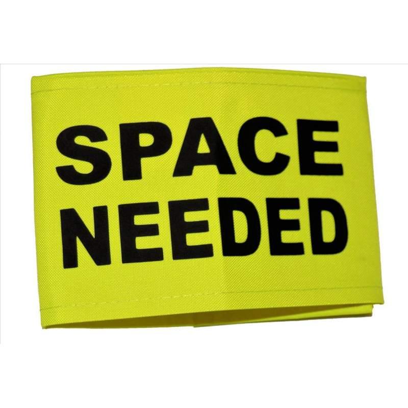 space needed fluorescent neon yellow arm band neondog co uk