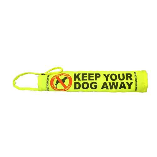 fluorescent Yellow Call Your Dog Bandana